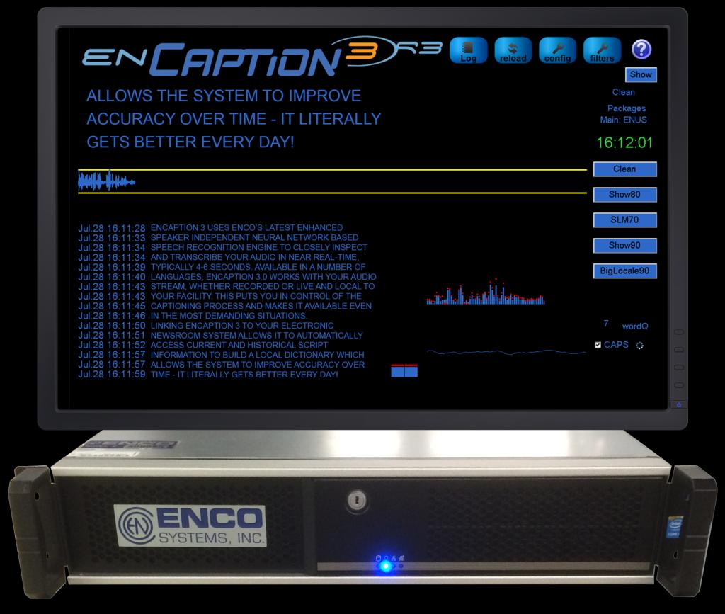 enCaption3 R3 - ENCO Systems - EnCaptionHardware