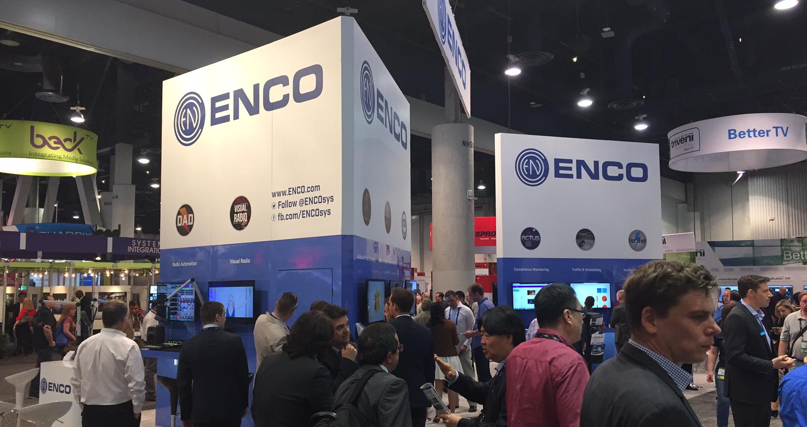 NAB - ENCO Systems - NAB17Booth2