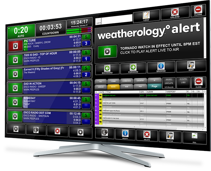 EAS Emergency Weather Notification System | ENCO Systems  - WeatherologyMonitor33x